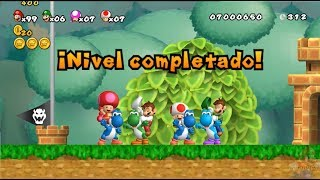 New Super Mario All Stars HD: Super Mario World REMAKE CO-OP 4 Players