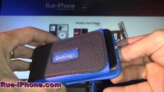 Housse iPhone et iPod Touch SportWear avec Dragonne Tour de Cou vendu par Rue-iPhone.com