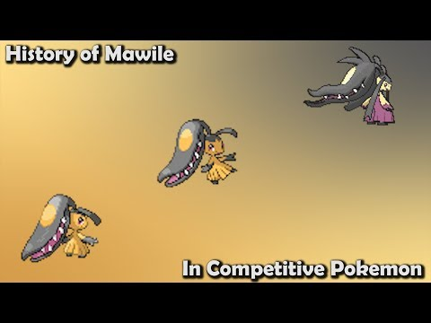 How GOOD was Mawile ACTUALLY? - History of Mawile in Competitive Pokemon (Gens 3-7)