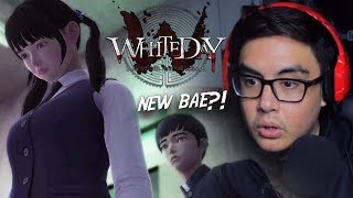 WE FOUND A YANDERE GIRL HIDING IN THE SCHOOL | White Day [5] (Korean Horror Game)