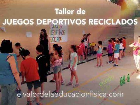 Juegos Con Material Reciclado Para Educacion Fisica Dia Mundial Del