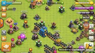 CLASH OF CLANS (SERVIDOR PRIVADO)!!Atacando Con 150 Magos De Hielo!!