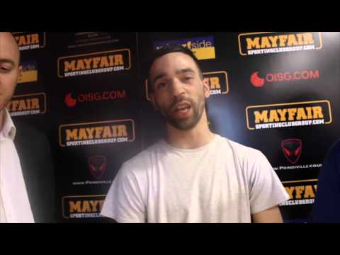 HOT PROSPECT JUNIOR SAEED TALKS TO iFL TV WITH PROMOTER MICKY HELLIET & RYAN BARRETT