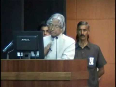 Former President of India, Dr. APJ Abdul Kalam at Amity University