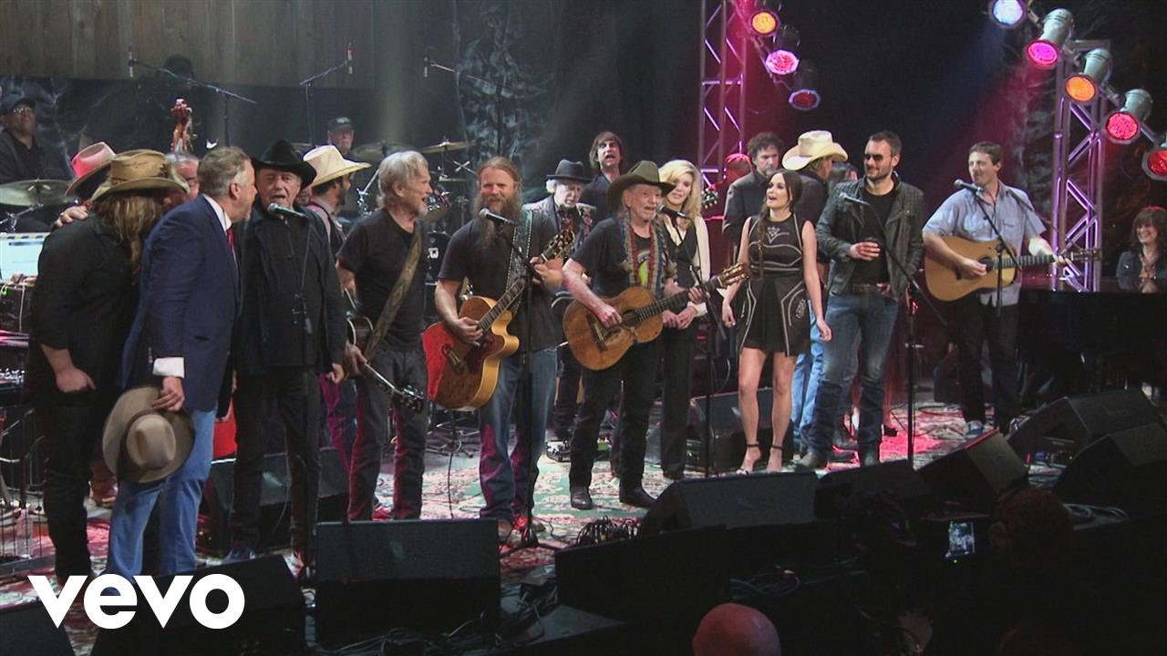 Willie Nelson & Full Ensemble   Luckenbach, Texas Back to the Basics of  Love Live