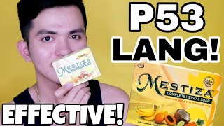 53PHP Effective Whitening Soap | Mestiza Soap Review