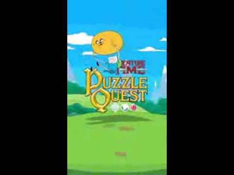 Adventure Time Puzzle Quest Gameplay Video