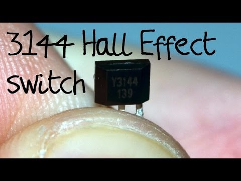 A3144 Hall effect switch - introduction