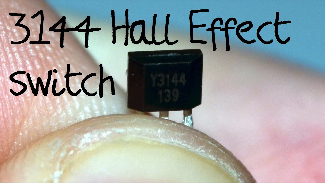 A3144 Hall Effect Switch Introduction Youtube Electric Speedometer