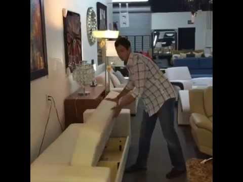 Opening Up the Istikbal Kobe Sofa