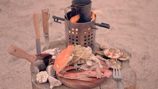 crab pasta ㅣ 꽃게파스타 ㅣ 캠핑요리 ㅣ 반합…