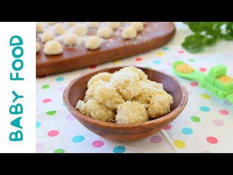 Gluten Free Millet Gnocchi baby food +6M