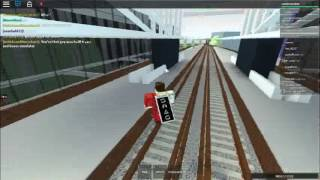 Northern Line Train Service To Dellgate   Roblox Mind The Gap #2