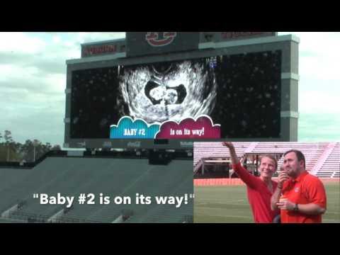 Josh's Jumbotron Surprise at Jordan-Hare Stadium