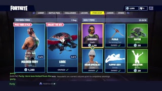 July 19 Item Shop Countdown - *NEW* Luchador and Chomp Sr. Skin ?? (Fortnite Battle Royale)