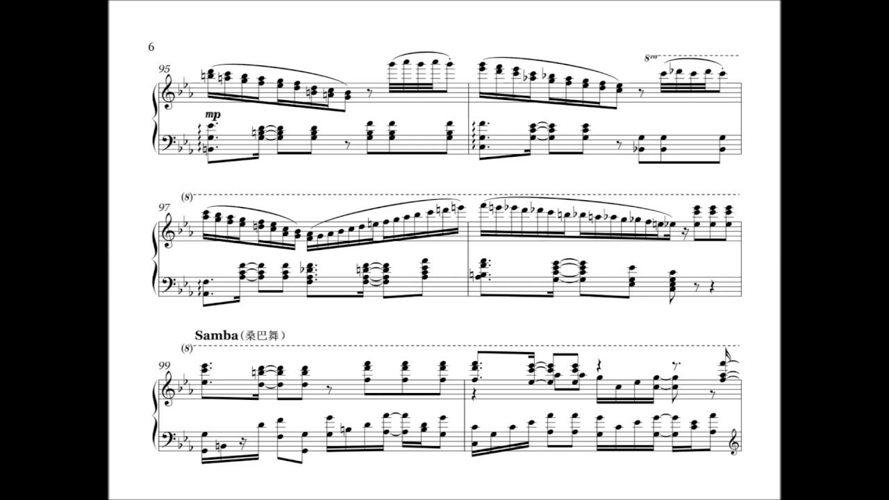 1998 World Cup Theme Song La Copa De La Vidathe Cup Of Life Piano Solo Arrangement
