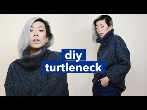 DIY Turtleneck!   WITHWENDY