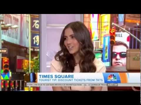 NBC Today Show: TKTS Tips