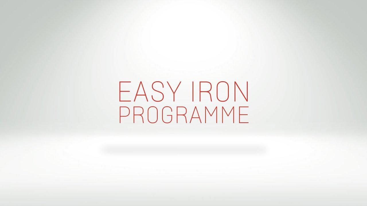 Easy Iron Programme On Your Washing Machine Youtube