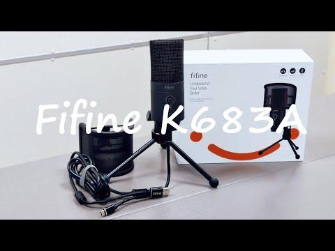 Студійний мікрофон Fifine K683A USB/USB C
