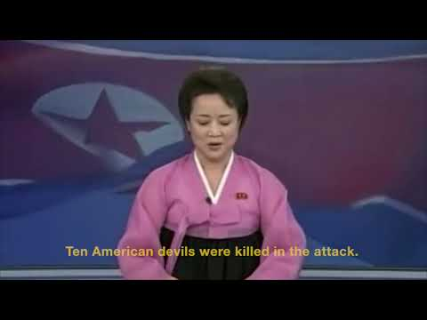"[Postillon24] North Korean state TV celebrates ""successful hurricane attack"" on USA"