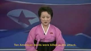 "North Korean state TV celebrates ""successful hurricane attack"" on USA"
