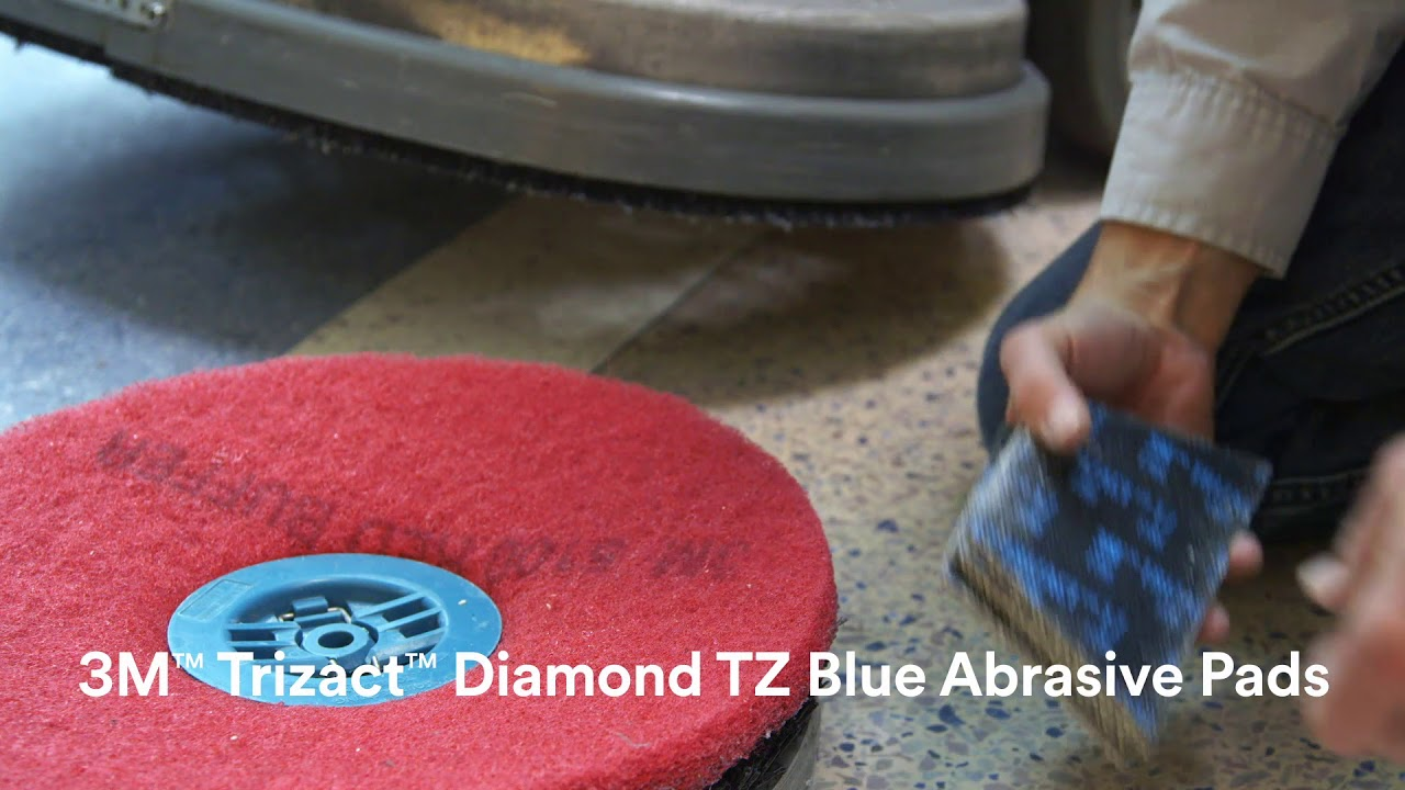 3m Stone Floor Protection System Application Steps