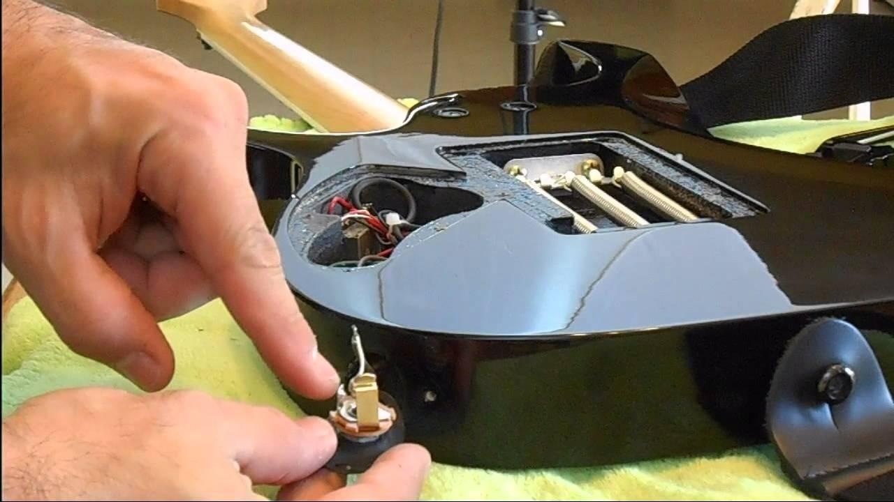 hight resolution of ibanez rgd 320 mono jack simple repair