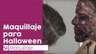 Maquillaje para Halloween || Cómo hacer una cara quemada