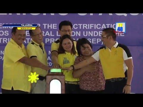 PNOY, pinangunahan ang ceremonial switch on ng 1,197 sitio sa Central Luzon