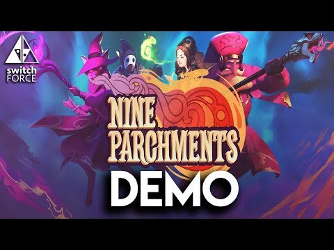 Nine Parchments Switch Gameplay Demo - Awesome New Indie!
