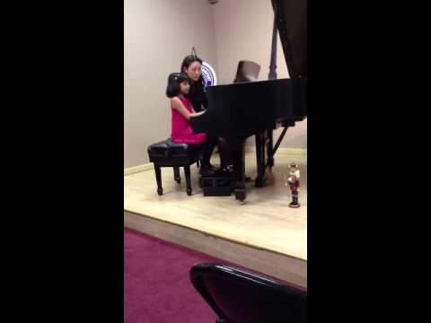 SALONI'S FIRST PIANO RECITAL 12/16/12 @ JACOBS MUSIC LAWRENCEVILLE NJ USA