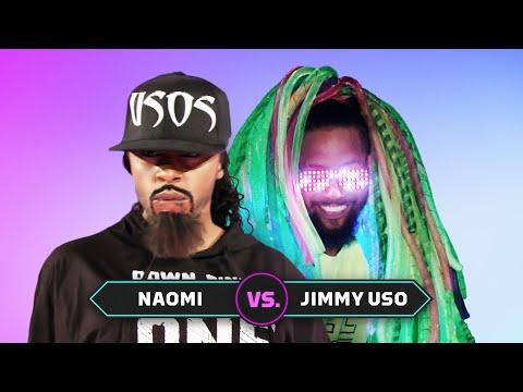 Naomi vs. Jimmy Uso: Superstar Impersonation Battle