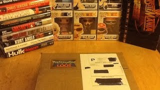 Pro Wrestling Loot Subscription Box Unboxing