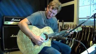 Glenn DeLaune Demo - Ibanez EW20AS 12-String Exotic Wood Acoustic