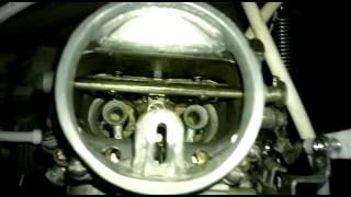 Работа карбюратора К-135