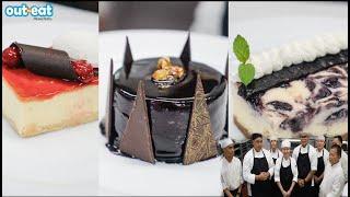How does Hyatt Regency Saipan make their cakes?