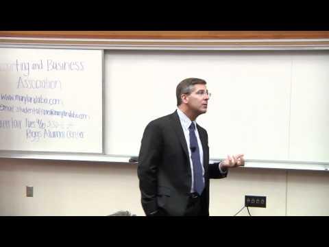 PwC Chairman Bob Moritz speaks at CEO@Smith