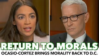 Ocasio-Cortez Brings Morality Back To Policy-Making In '60 Minutes' Interview