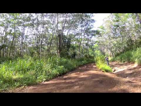 The Road to Blue Hole, Kauai Hawaii