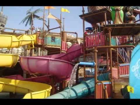 رحله إلى الحديقه المائيه للوايلد وادي في دبي Youtube
