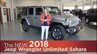 All-New 2018 Jeep Wrangler Sahara - Elk River, Coon Rapids, Mpls, St Paul, St Cloud, MN | Review