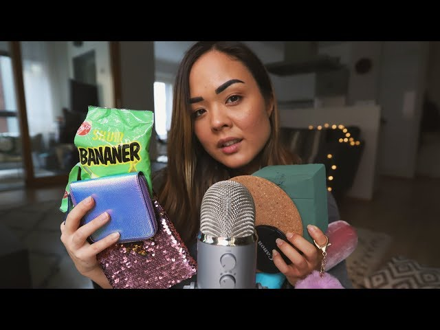 100 TRIGGERS ASMR CHALLENGE 🎧 Tapping • Trigger words • Lid sounds