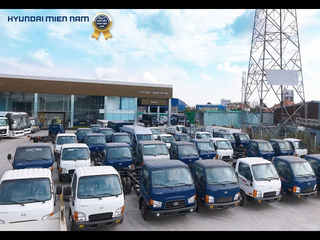 Giới thiệu showroom 3S của Hyundai Miền Nam