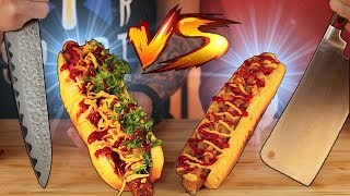 TANDEM AT COOKING BATTLE / WHO HAS THE BEST HOT DOG? SUB ENG, FR, ESP, IT, 中文