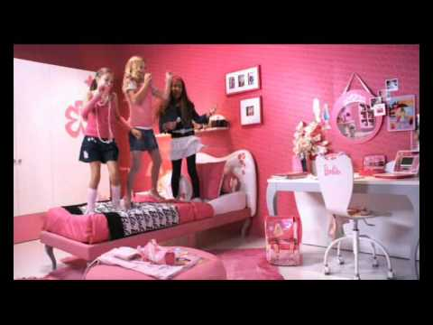 La cameretta di Barbie - YouTube