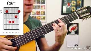 The Monster ★ Eminem & Rihanna ★ Guitar Lesson - Easy How To Play Chords Tutorial