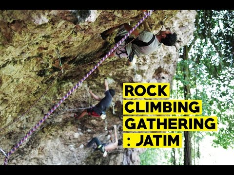 Rock Climbing Gathering - East Java, Indonesia