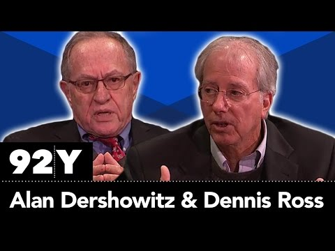 Dennis Ross & Alan Dershowitz with Ethan Bronner: The US-Israel Relationship