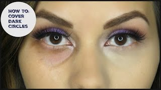 HOW TO: Cover Dark Circles Under Eyes & have NO creasing!